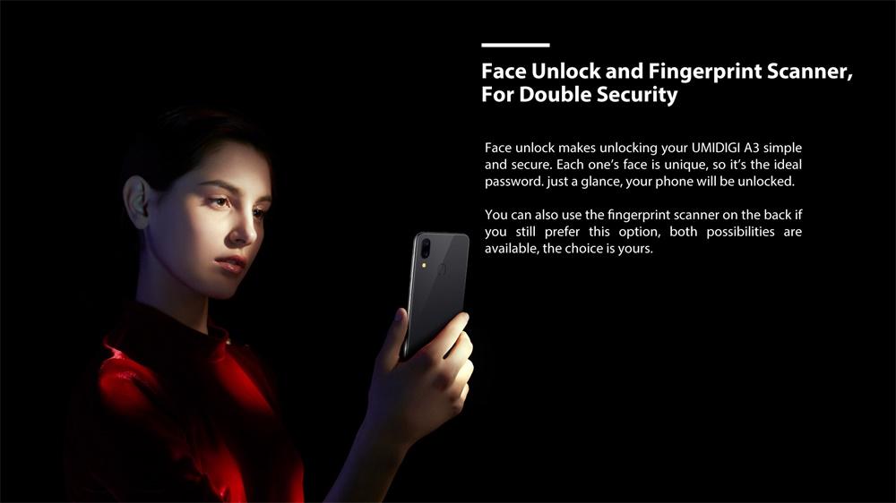 umidigi a3 smartphone for sale