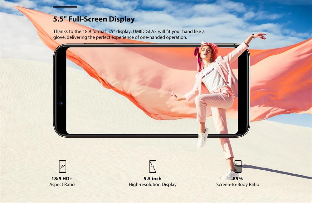 umidigi a3 smartphone online