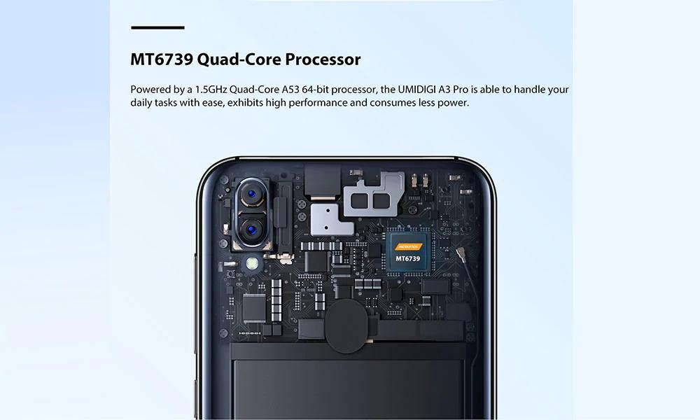 new umidigi a3 pro smartphone