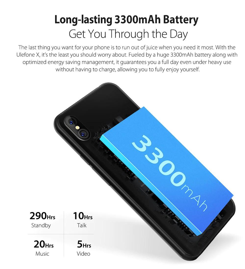 ulefone x smartphone 64gb