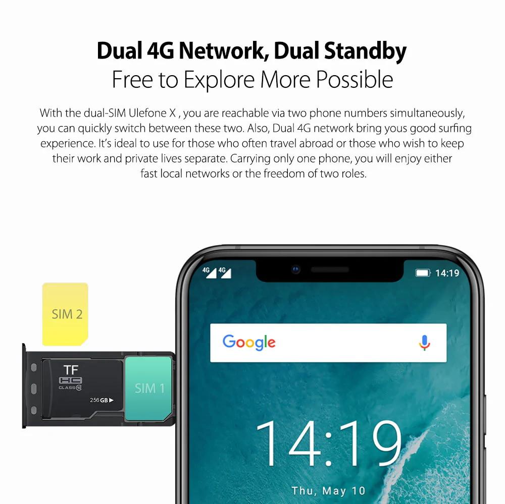 ulefone x 4g smartphone price
