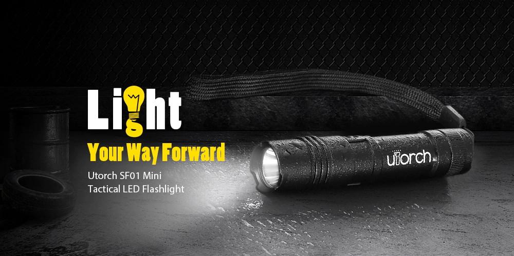 utorch sf01 led flashlight