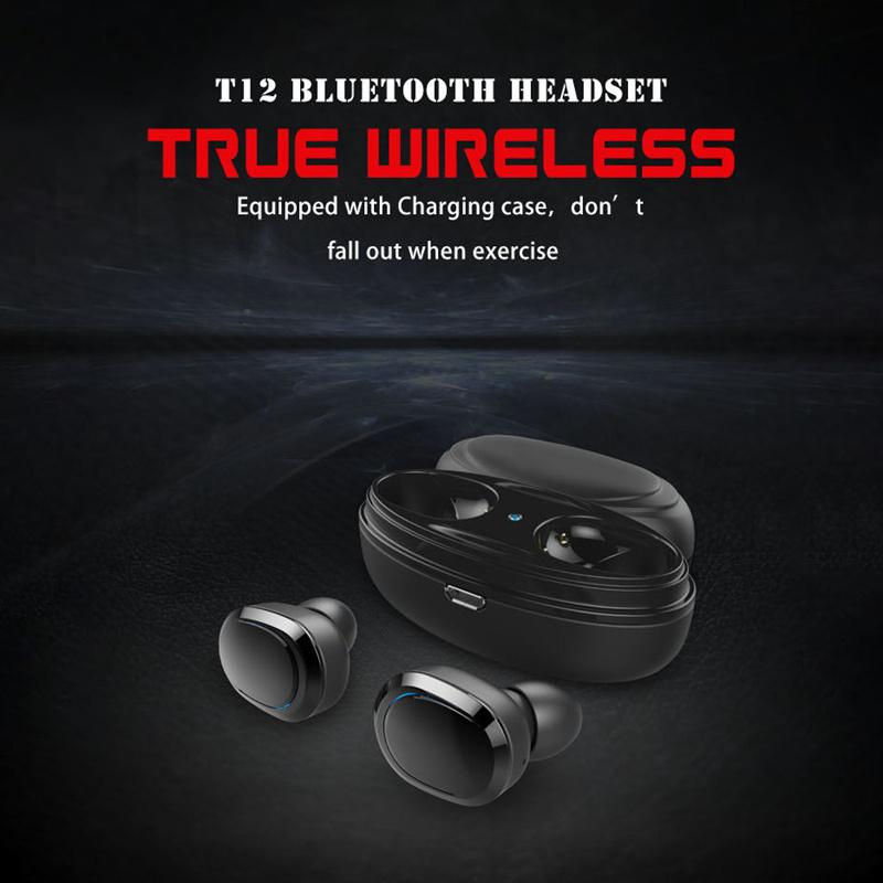 vitog t12 stereo tws bluetooth earphone