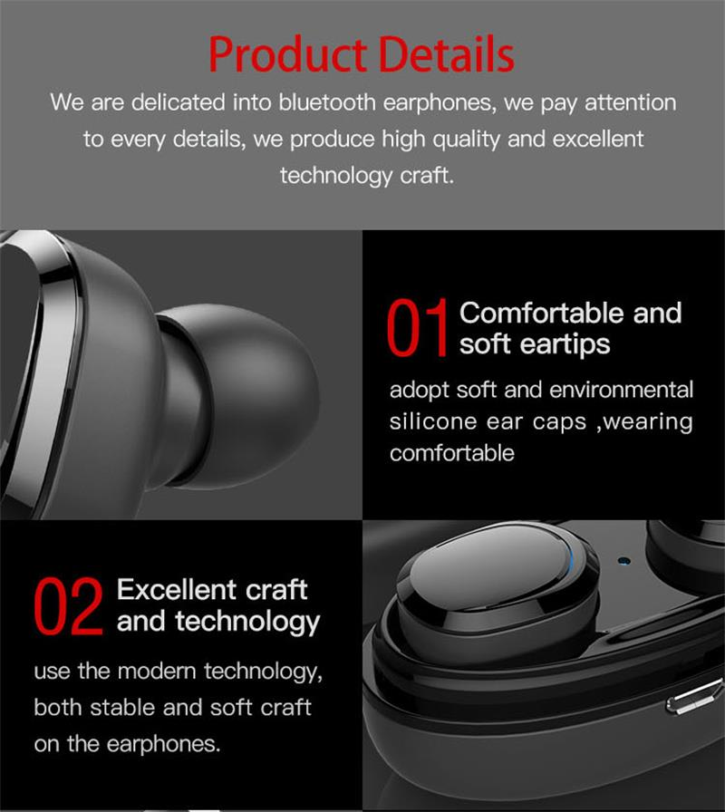 vitog t12 tws bluetooth earphone