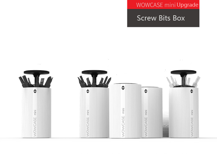 xiaomi wowcase electric screw driver drill bit box