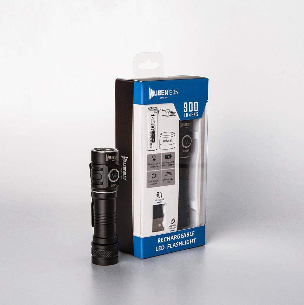 wuben e05 led flashlight online