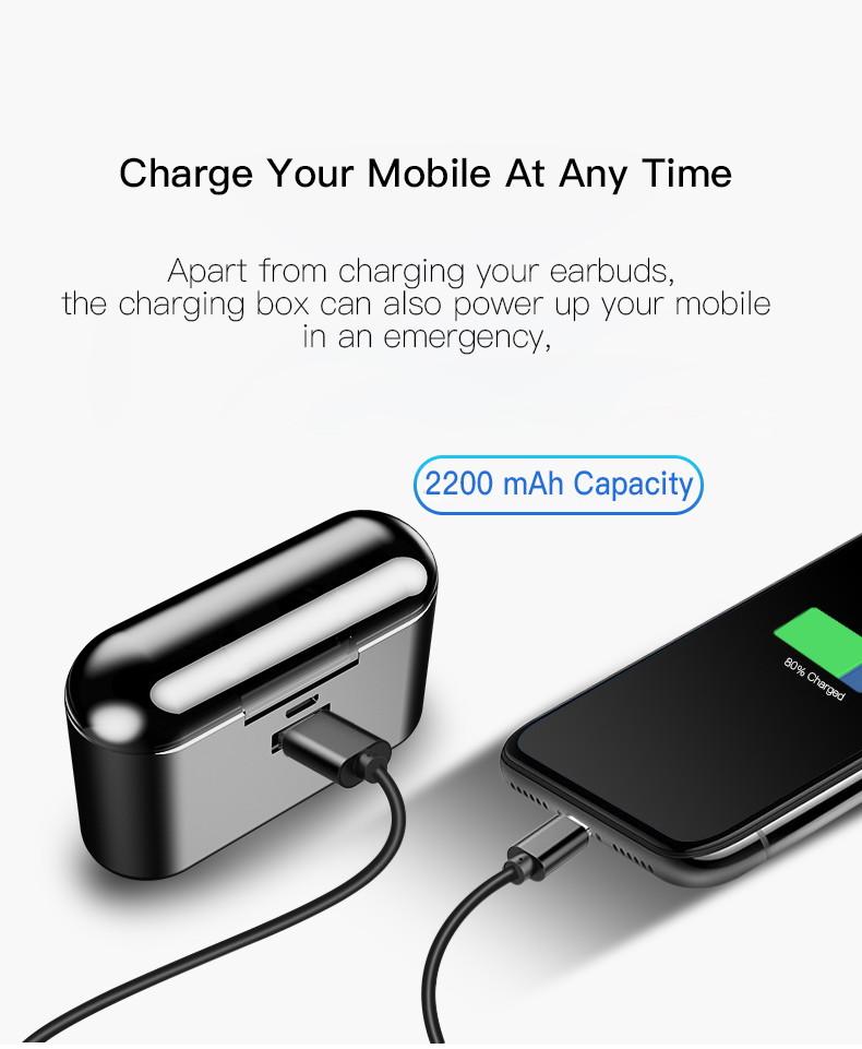 9673d76a811 X8 TWS Bluetooth 5.0 Earbuds | GearVita
