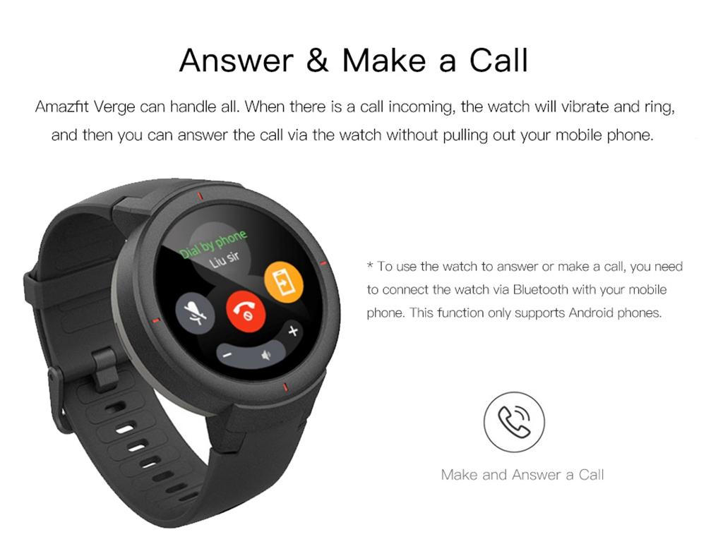 buy xiaomi amazfit verge smartwatch