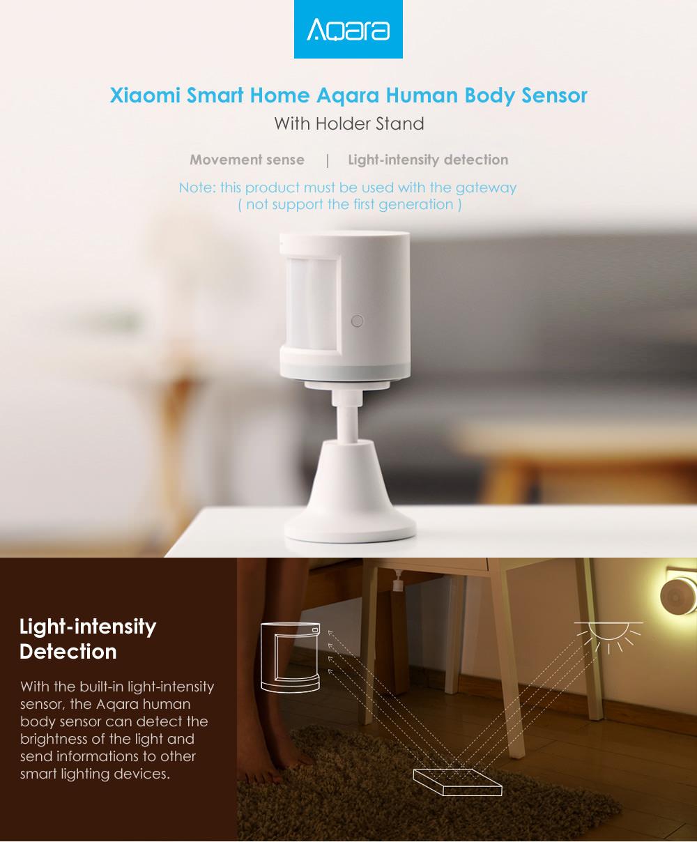 xiaomi aqara human body sensor
