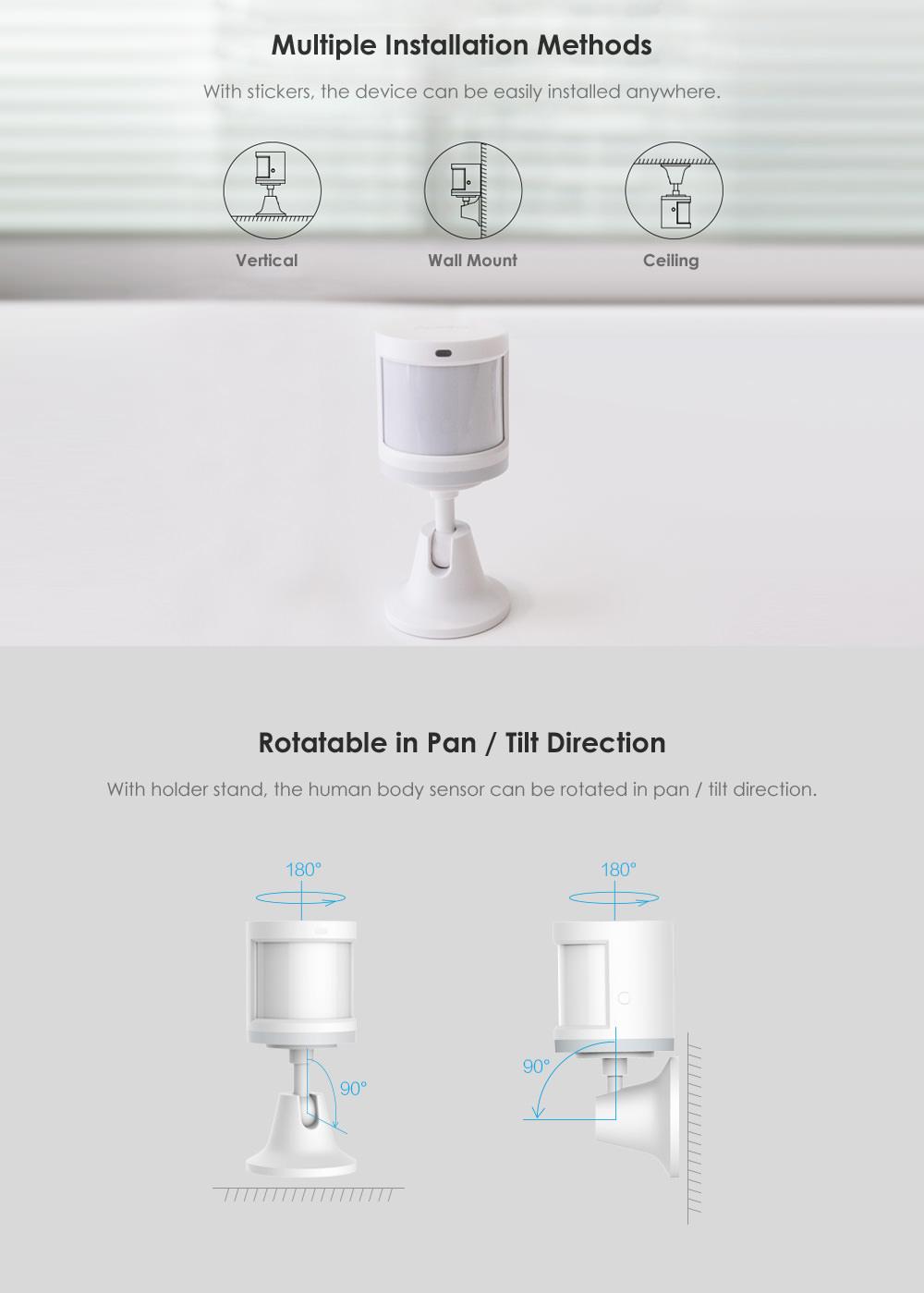 aqara human body sensor