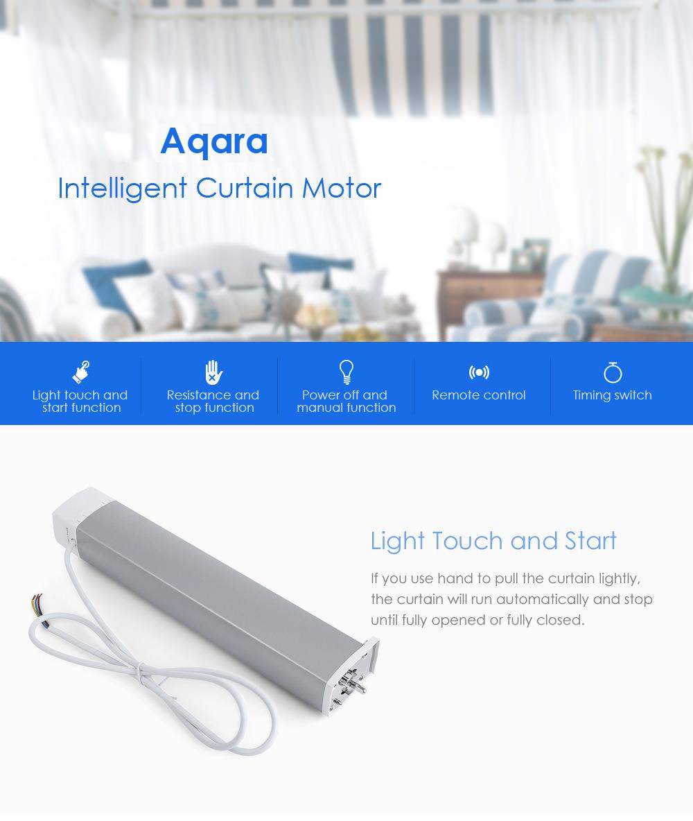 xiaomi aqara intelligent curtain motor