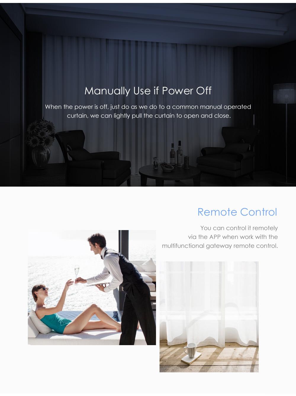 aqara intelligent curtain motor