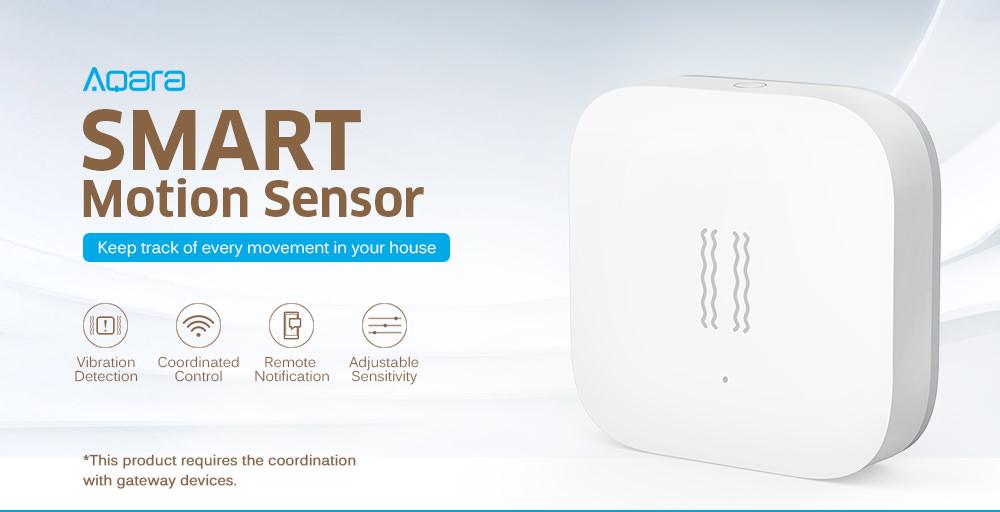 xiaomi aqara smart motion sensor
