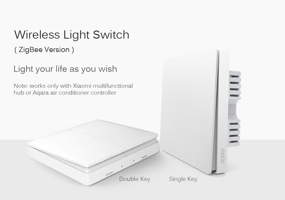 xiaomi aqara smart wireless light switch