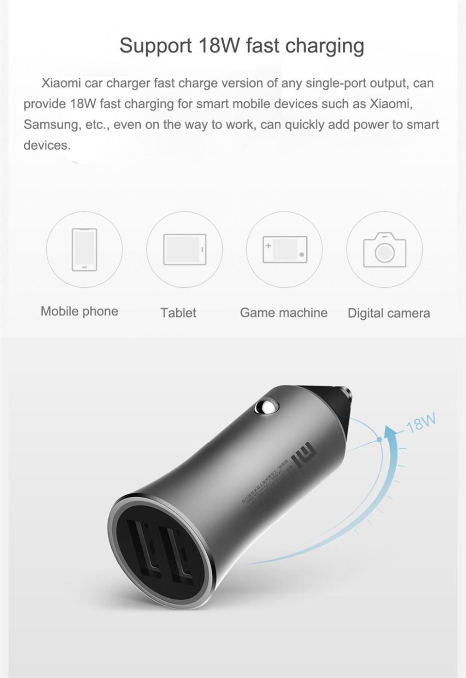 xiaomi cc05zm car charger online