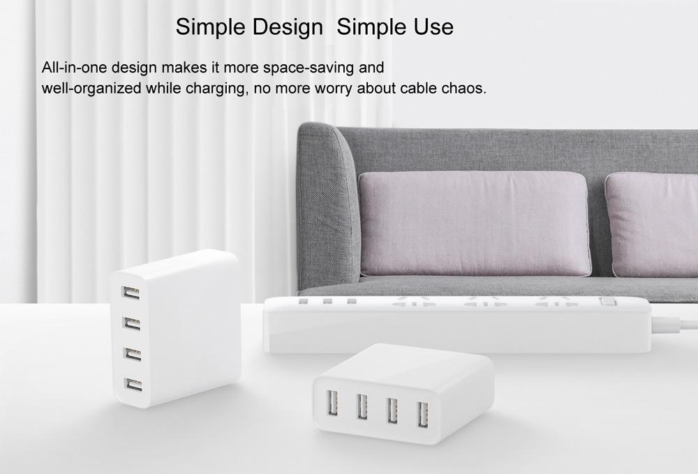 buy mi 4 ports usb charger