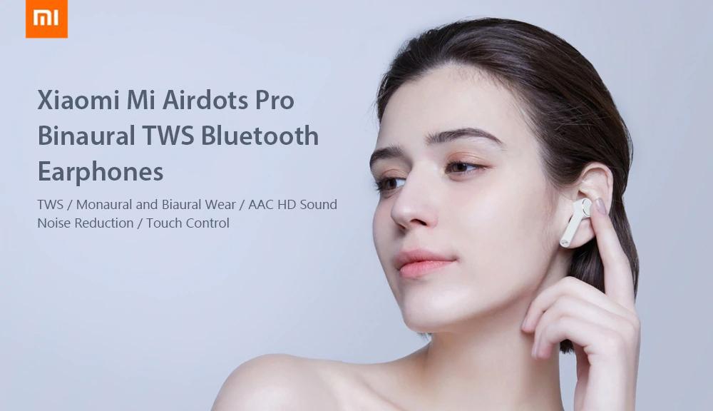 Auriculares Xiaomi Mi Airdots Pro: edición mejorada de Mi AirDots Xiaomi-Mi-Airdots-Pro-Binaural-TWS-Bluetooth-Earphones-1