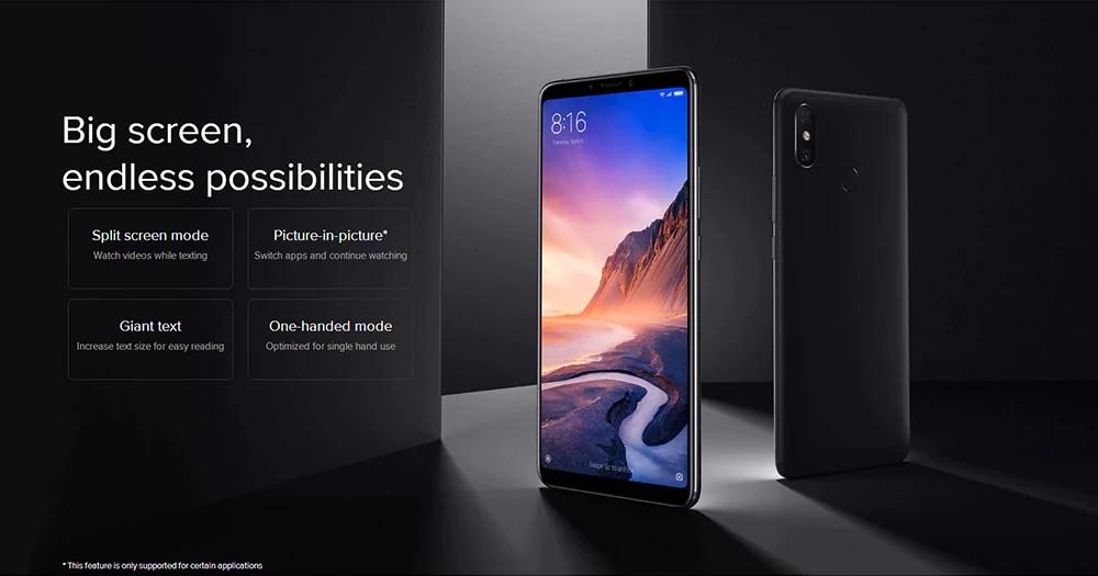 xiaomi mi max 3 smartphone price