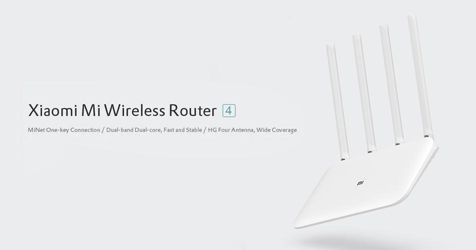 xiaomi mi wireless router 4