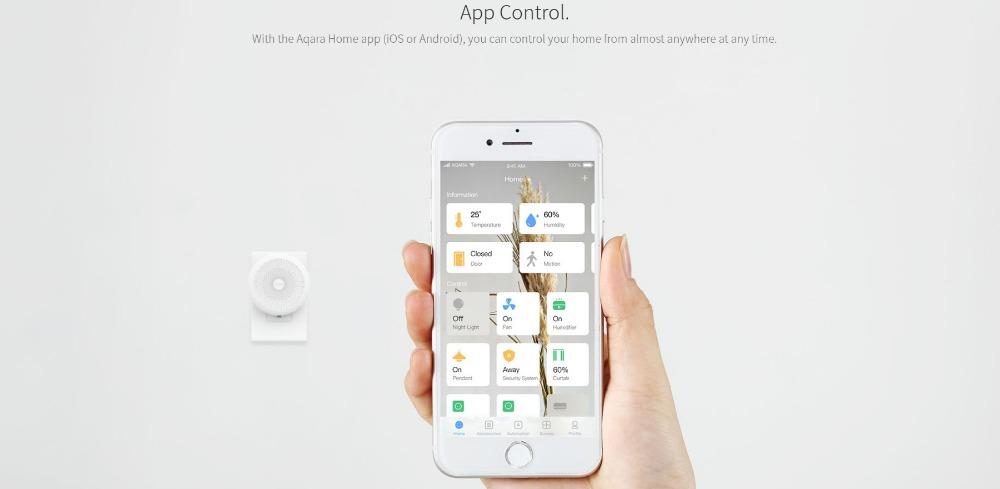 mijia aqara smart home gateway