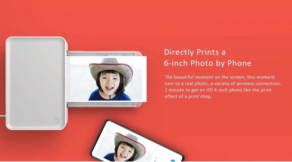 xiaomi mijia color photo printer