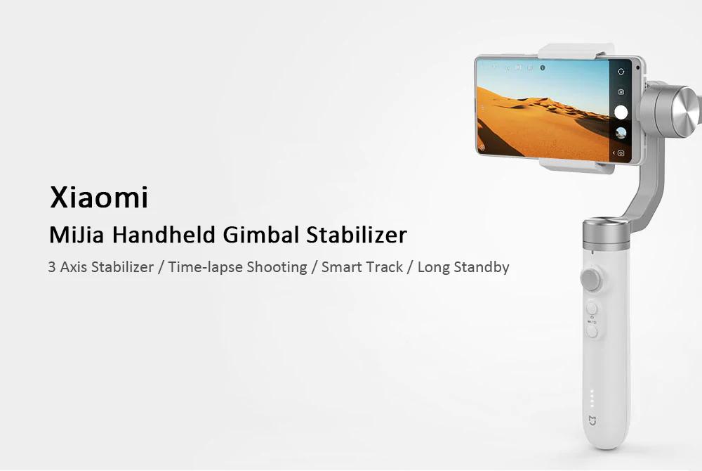 xiaomi mijia sjyt01fm handheld gimbal stabilizer