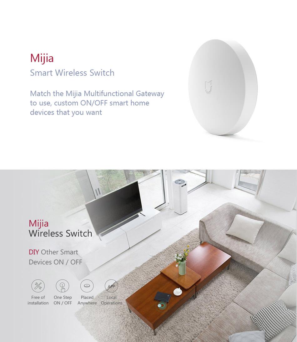 xiaomi mijia smart wireless switch