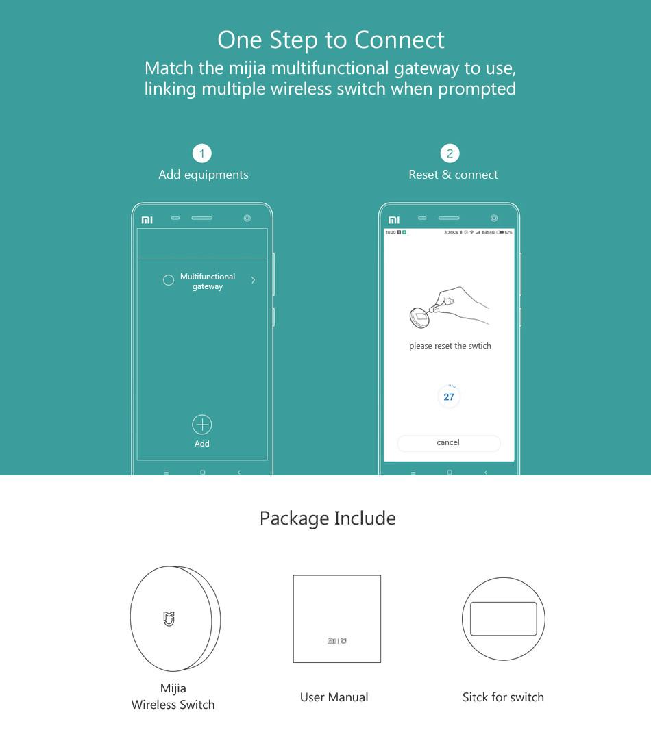 buy xiaomi smart wireless switch