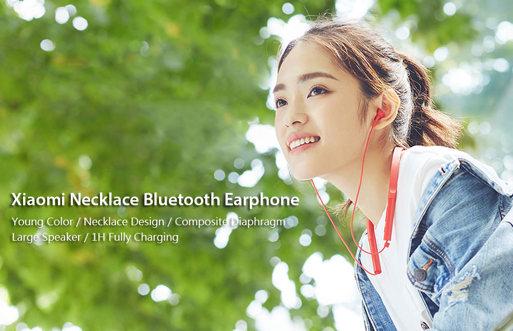 xiaomi necklace bluetooth earphone
