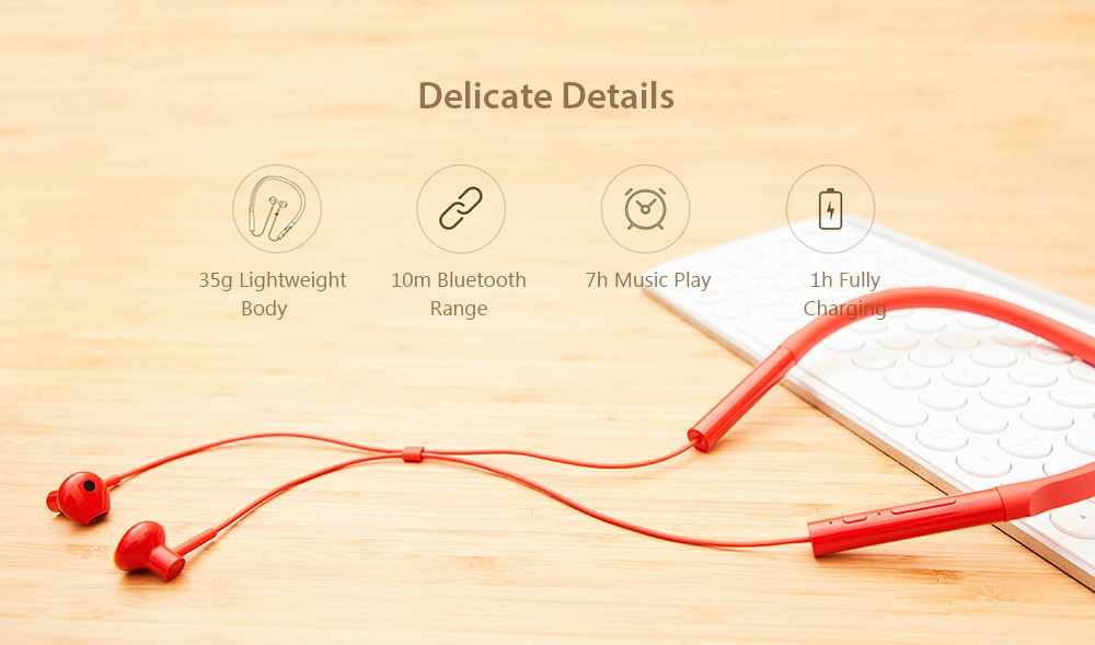 xiaomi necklace bluetooth earphone young version