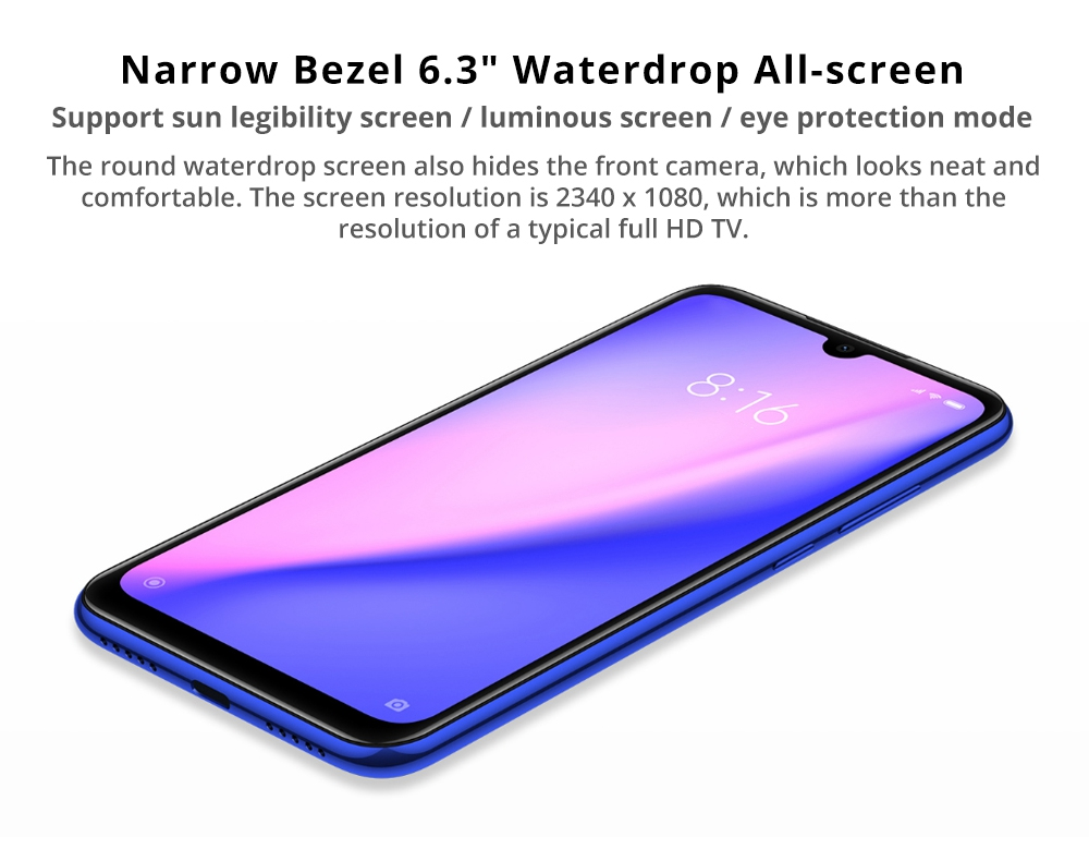 cheap xiaomi redmi note 7 smartphone