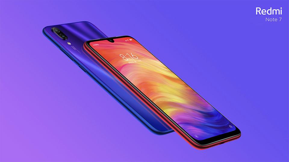 xiaomi redmi note 7 smartphone online