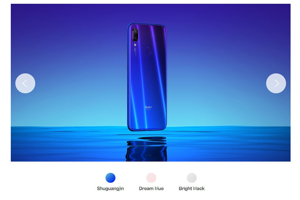 redmi note 7 32g 2019