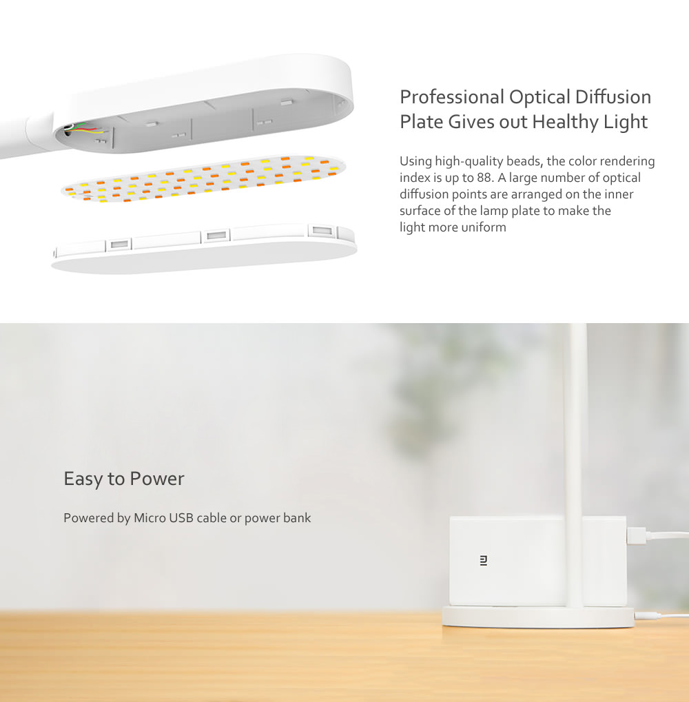 new xiaomi yeelight led desk lamp