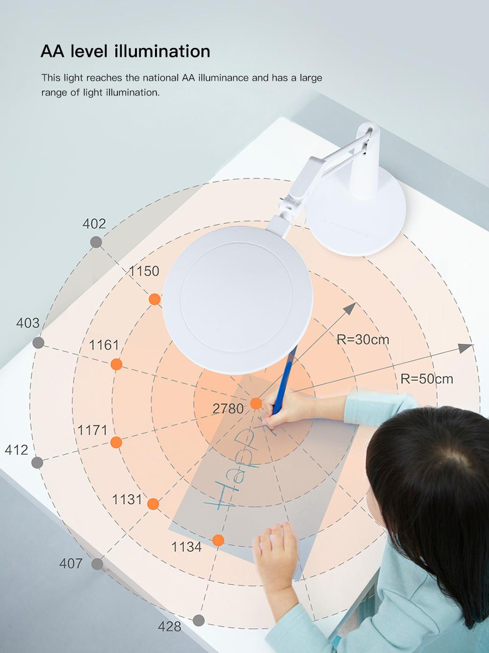 xiaomi eye-protection desk lamp