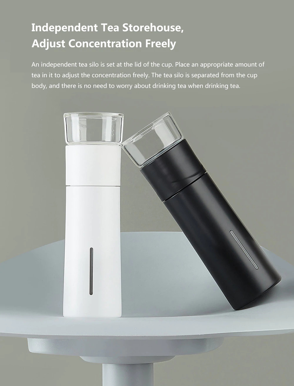 youpin tea water separation cup