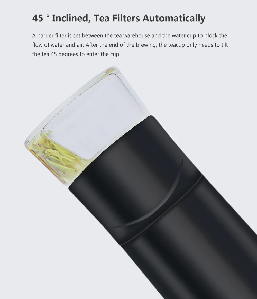 xiaomi youpin tea water separation cup price