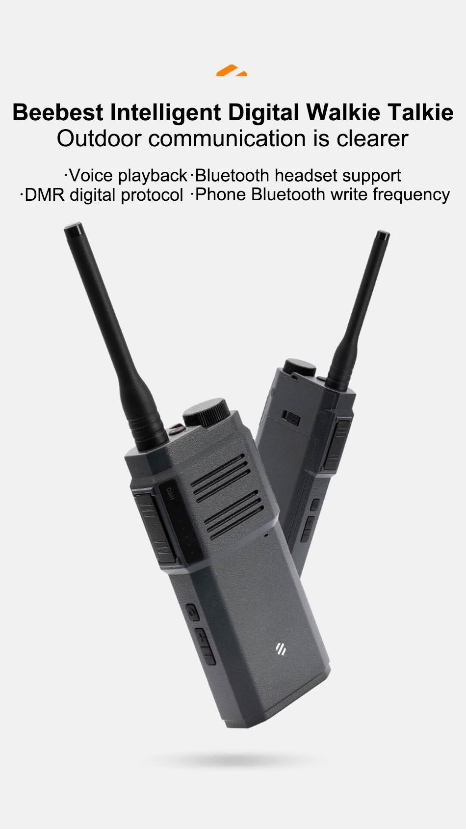 xiaomi mijia d301 walkie talkie