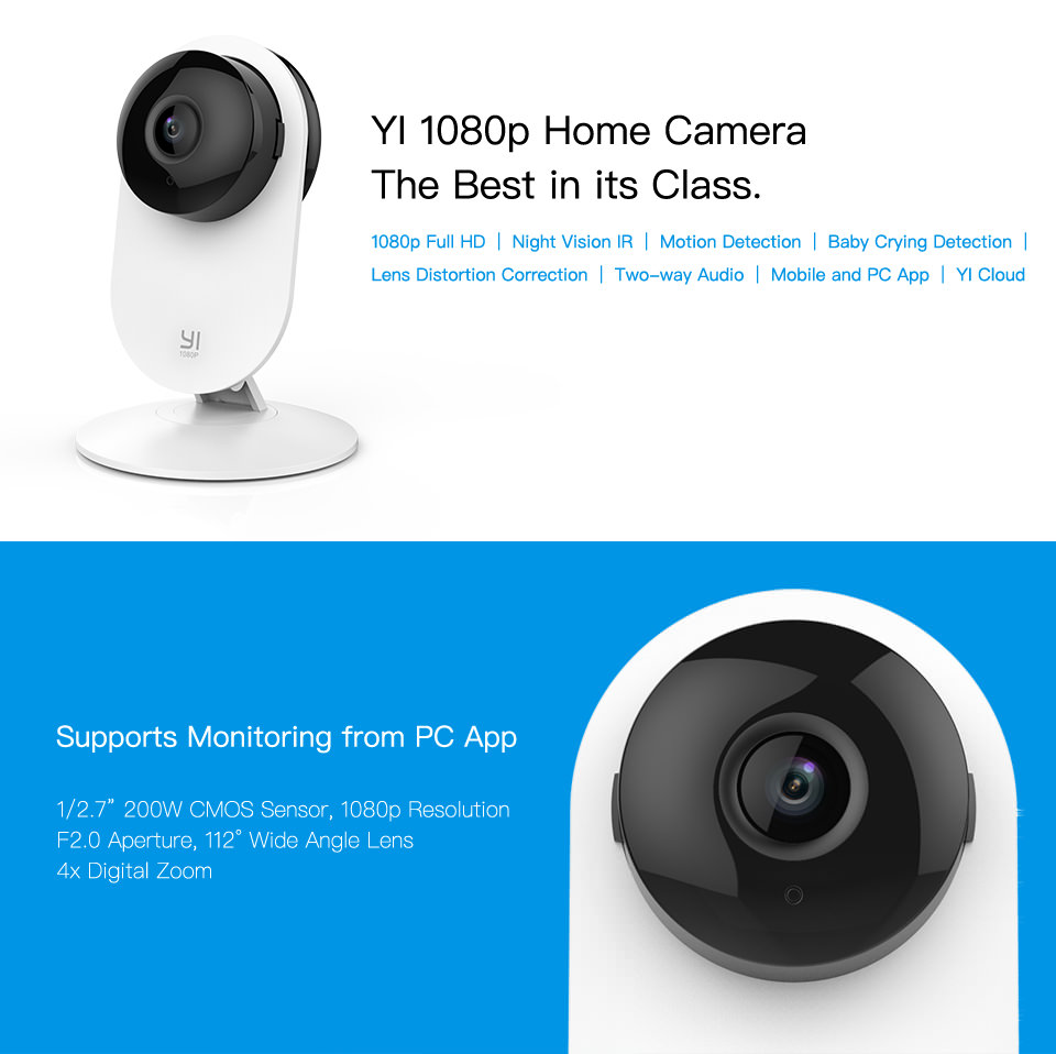 yi 1080p home camera online