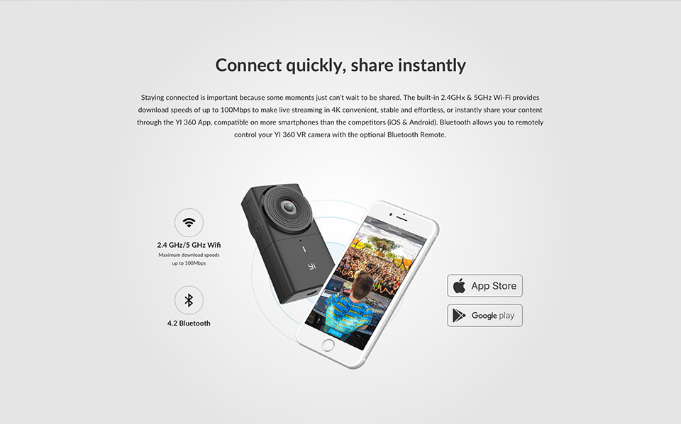yi 360 camera for sale