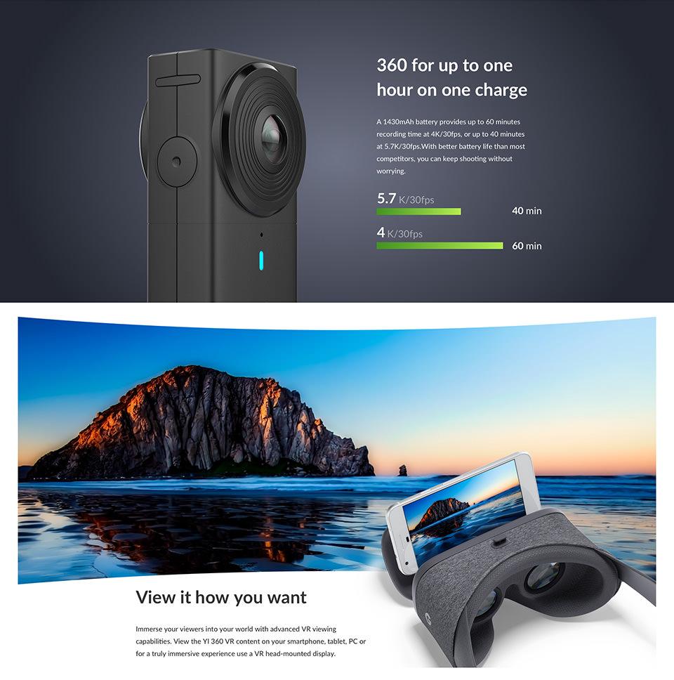 yi 360 vr camera online sale