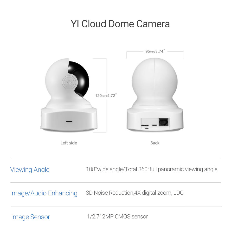 yi cloud dome camera online