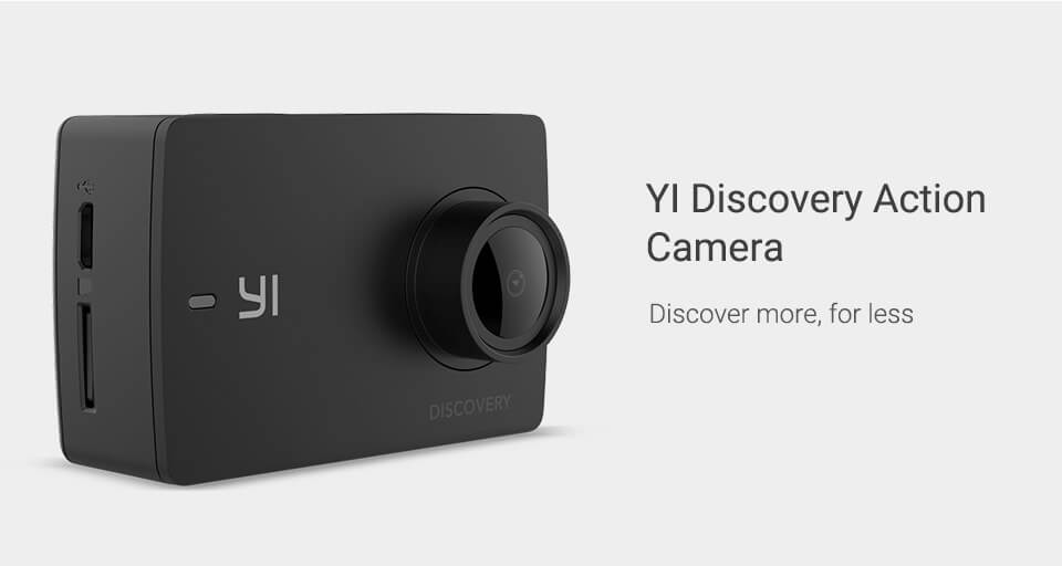 yi discovery camera online