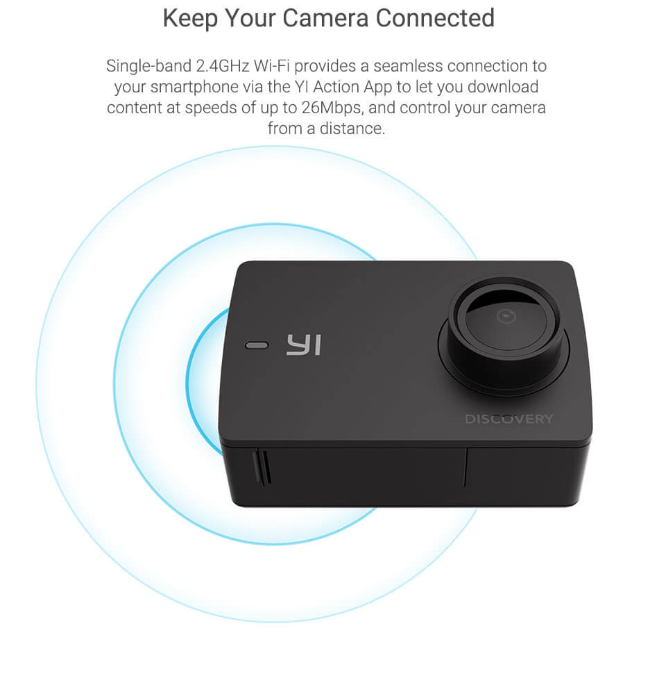 yi discovery action camera price