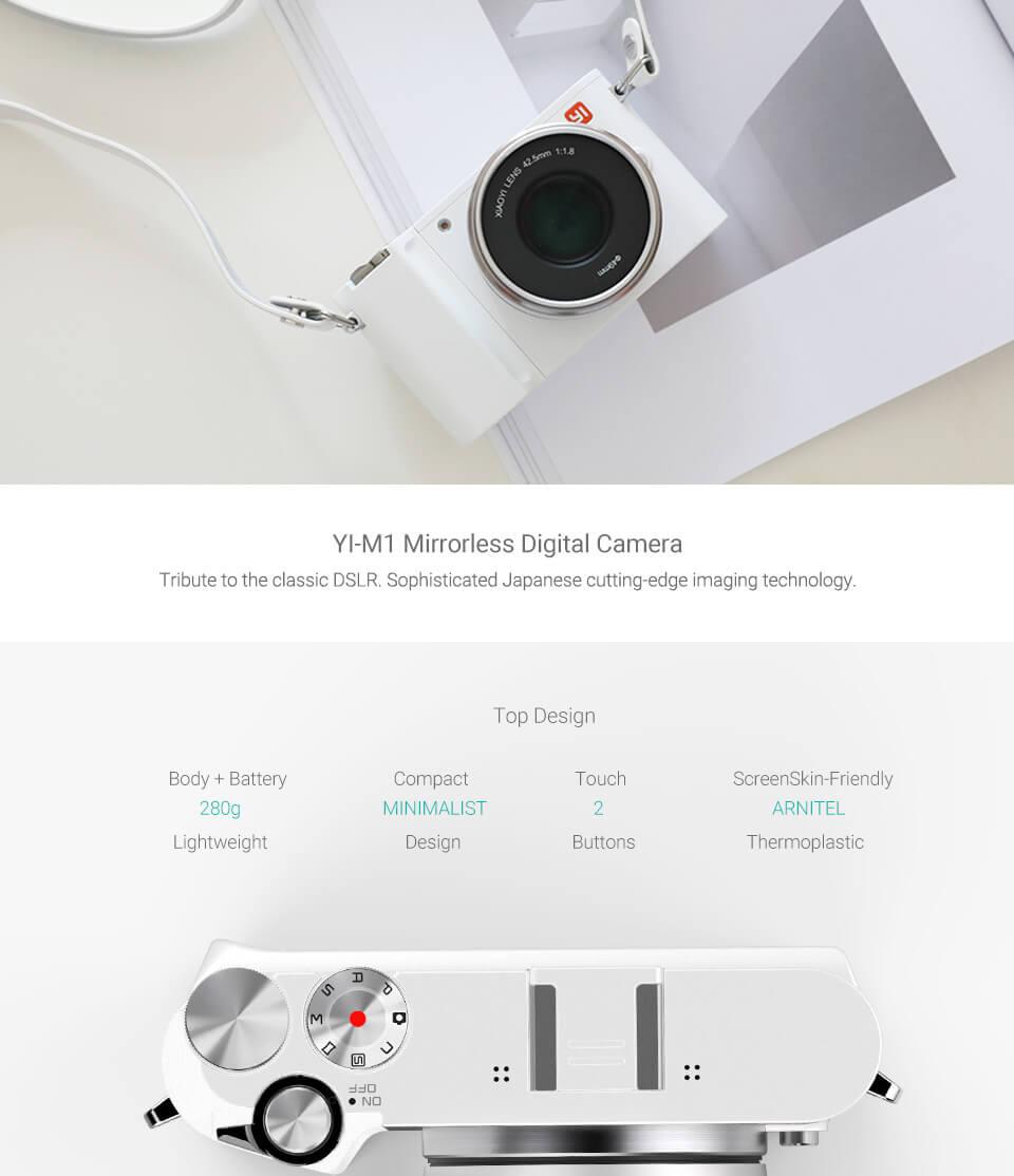 yi m1 mirrorless camera online