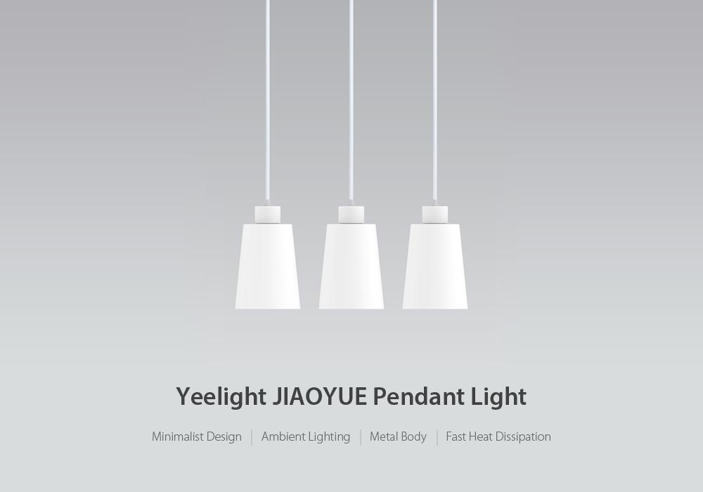 yeelight yldl03yl three-head pendant light