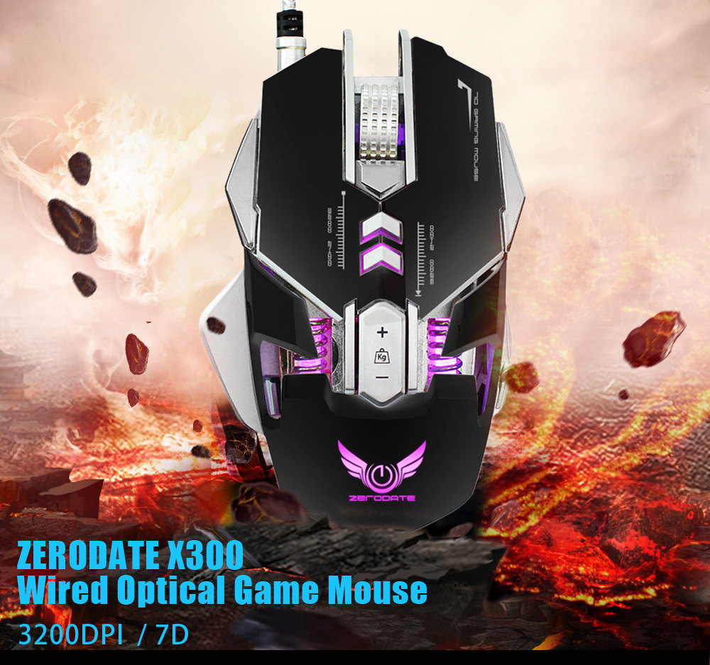 zerodate x300 gaming mouse