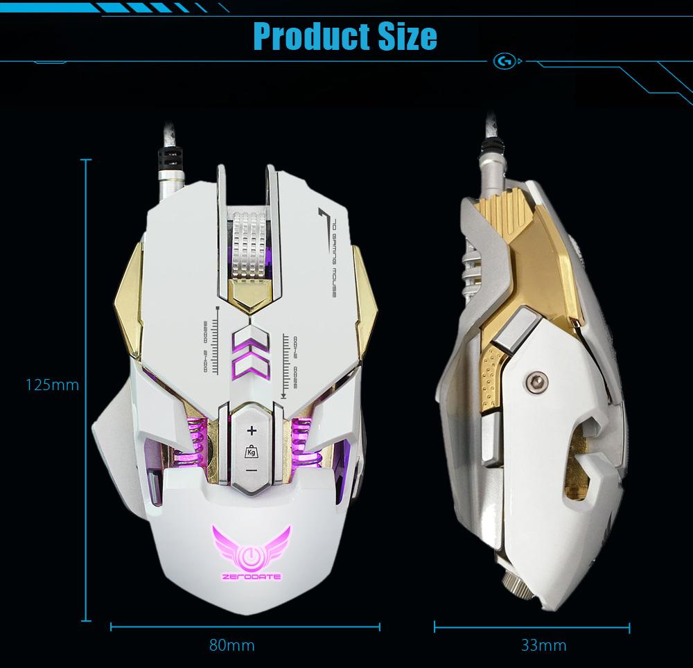 zerodate x300 mouse