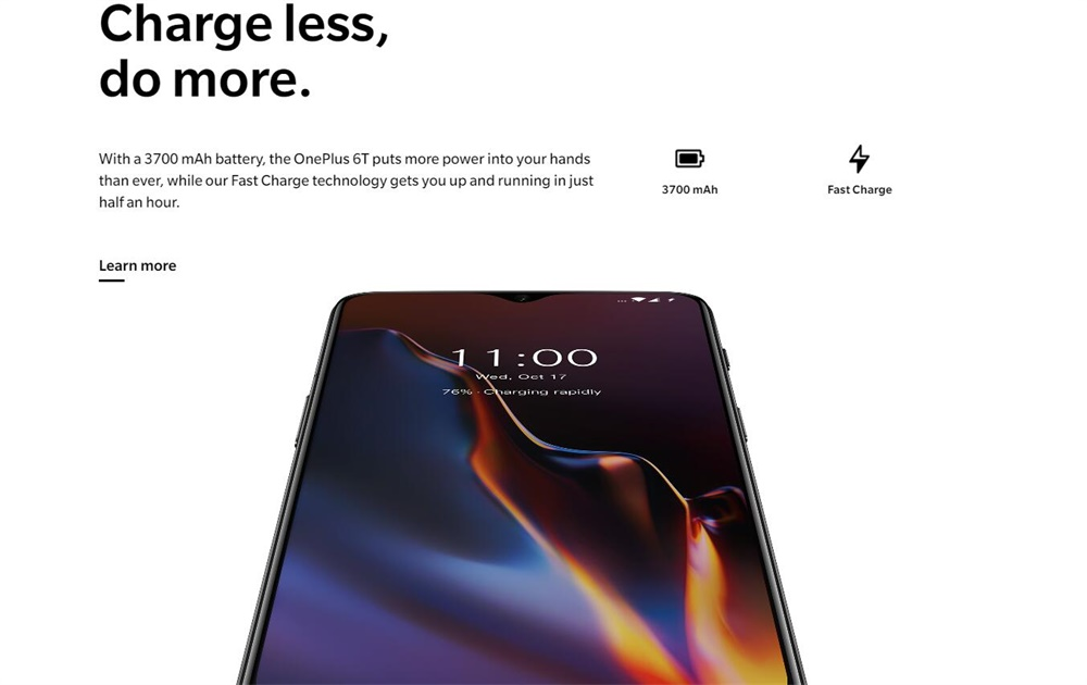 oneplus 6t smartphone online