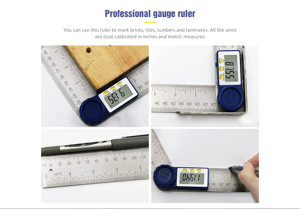 mini electronic level angle gauge